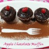 Apple Chocolate Muffin/vegan apple chocolate muffin recipe