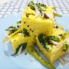 Instant Khaman Dhokla In Microwave/ Khaman Dhokla with Curd