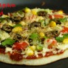 Uttapam Pizza - A combo of South Indian and Italian taste
