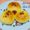 Japanese Sweet Stuffed Milk Bun/ Sweet buns using Tangzhong