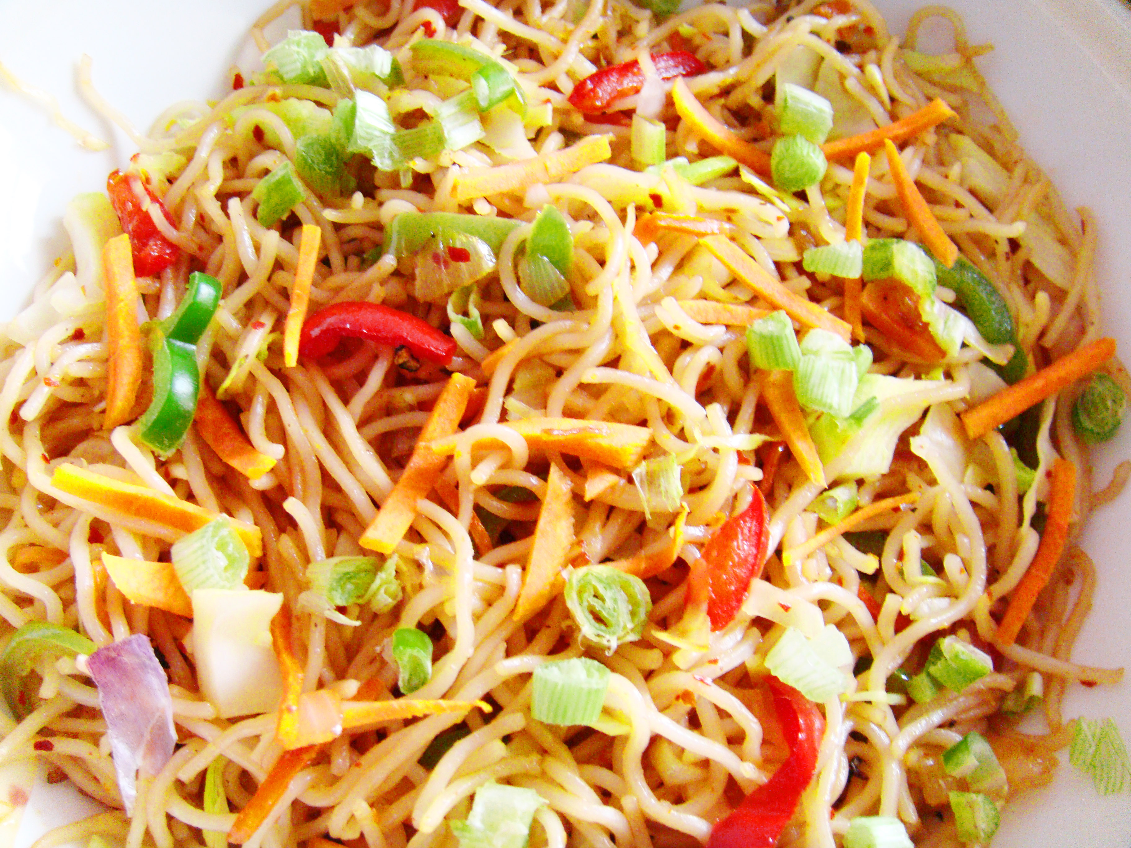 Hakka noodles recipe veg hakka noodles recipe vegetable noodles