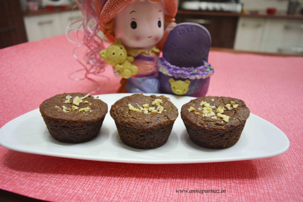 Buckwheat apple banana muffin1