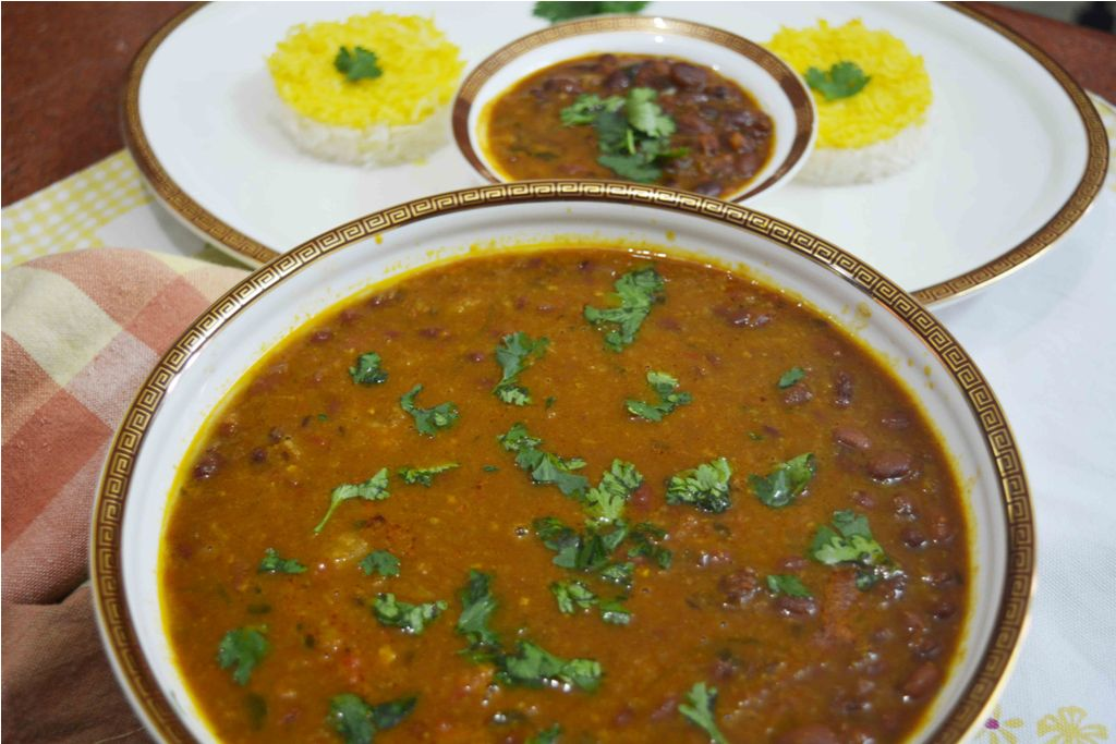 Punjabi Rajma Masala Curry/ Red Kidney Bean Curry