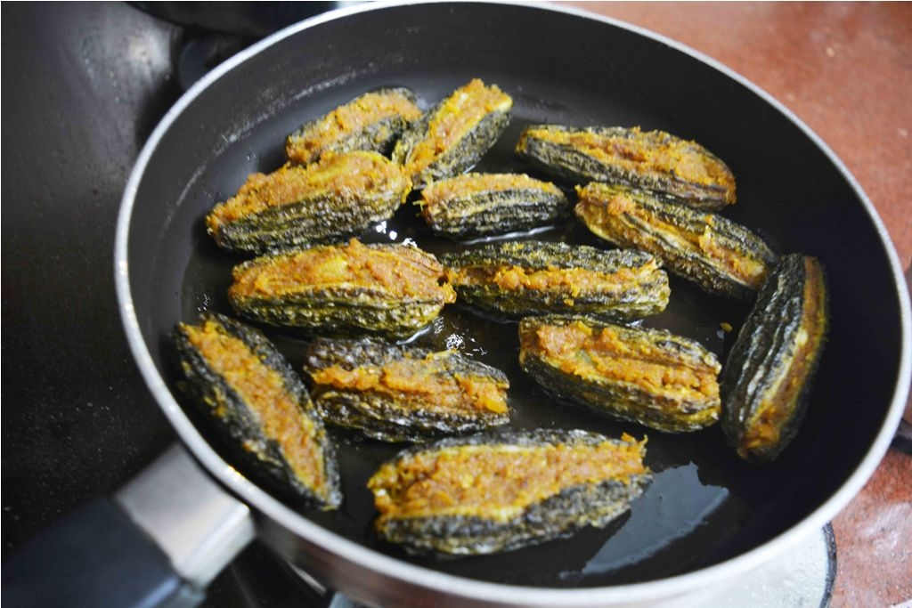 stuffed karela1
