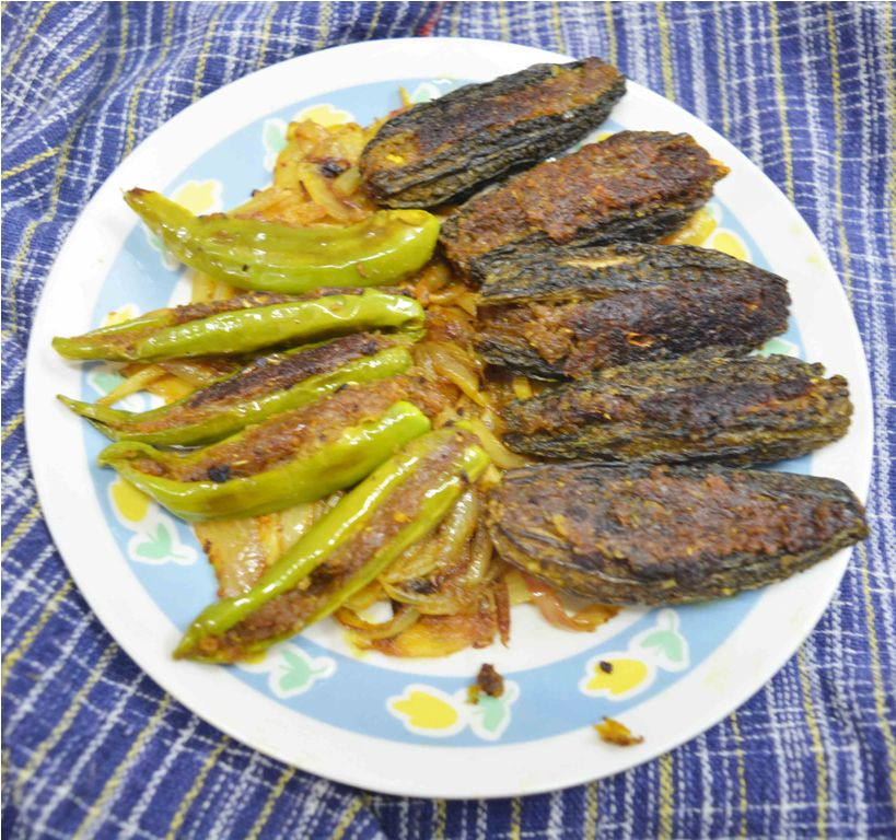stuffed karela2