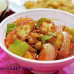 Schezwan Chili Potato/ How to make sichuan chili potato