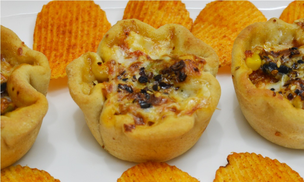 Pizza Cupcake Recipe/ Pizza Muffins