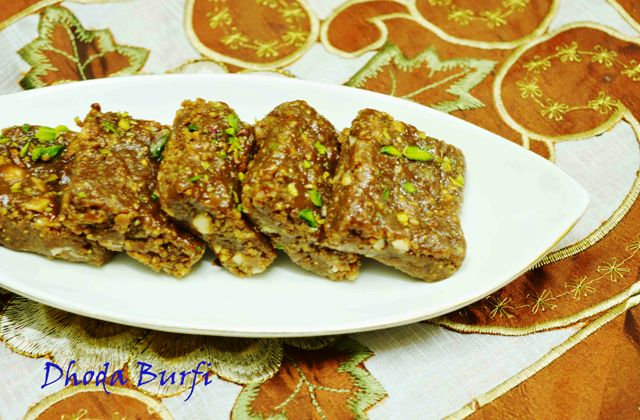 Dhoda Burfi- A specialty from Punjab