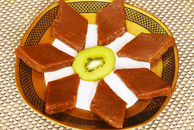 Kiwi Burfi Recipe