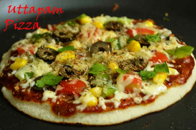 Uttapam Pizza – A combo of South Indian and Italian taste
