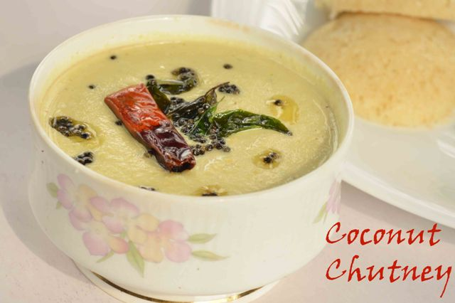 Coconut Chutney Using Desiccated Coconut