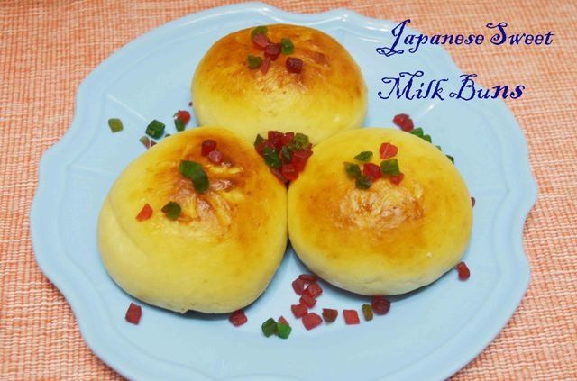 Japanese Sweet Stuffed Milk Bun