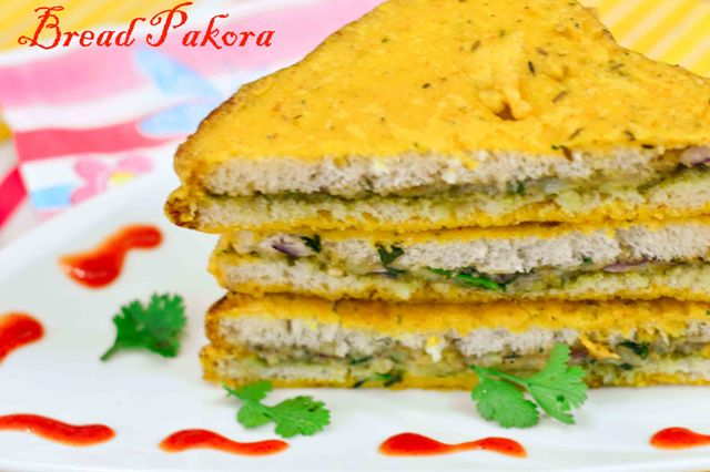 Stuffed Bread Pakora/ How to make Bread Pakora