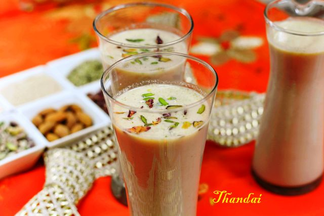 Thandai – North Indian Summer Speciality