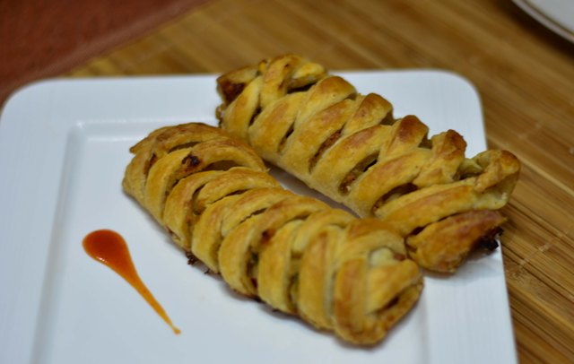 Braided Puff Pastry