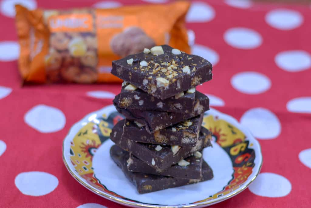 Unibic Cashew Chocolate Fudge /Chewy & Crunchy Chocolate Fudge