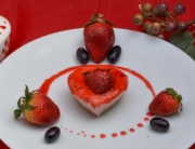 Creamy No Bake Strawberry Cheesecake