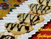 chocolate gujiya