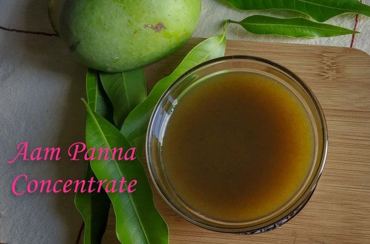 Aam Panna Concentrate/ Raw Mango Drink Concentrate