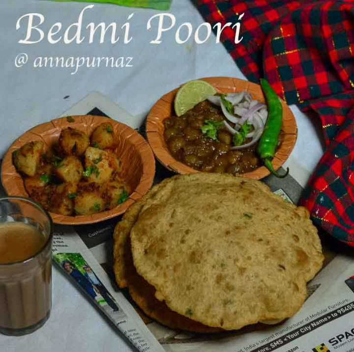 Bedmi Poori Recipe/ How to make Bedmi Puri