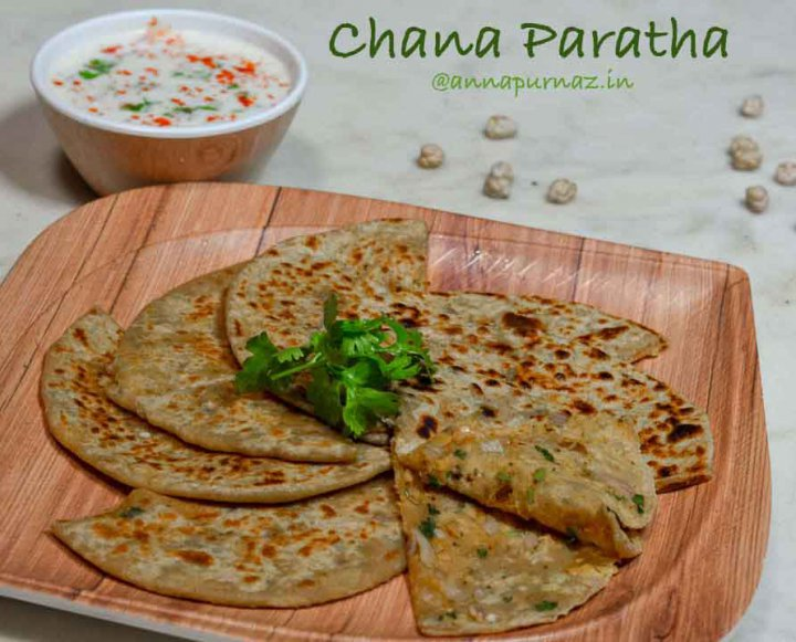 Chana Paratha/ Chole Paratha recipe