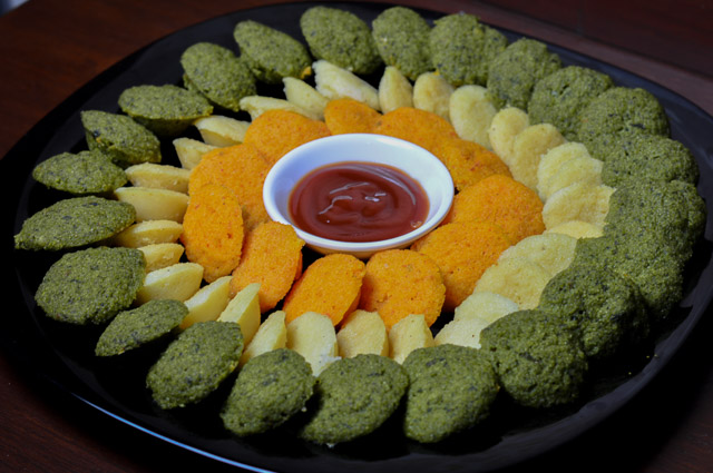 Mini Veggies Idli
