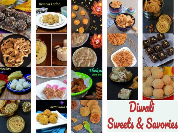 Diwali Sweets & Savories Round up