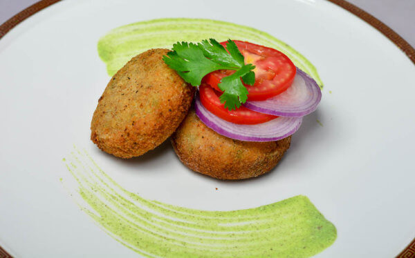 leftover dalia and rice tikki