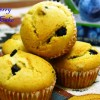 Soft & Spongy Eggless Blueberry Cupcakes /How to make Eggless & Butterless Cupcakes