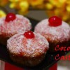 Coconut Castles - The English Madeleines /Eggless Coconut Castles