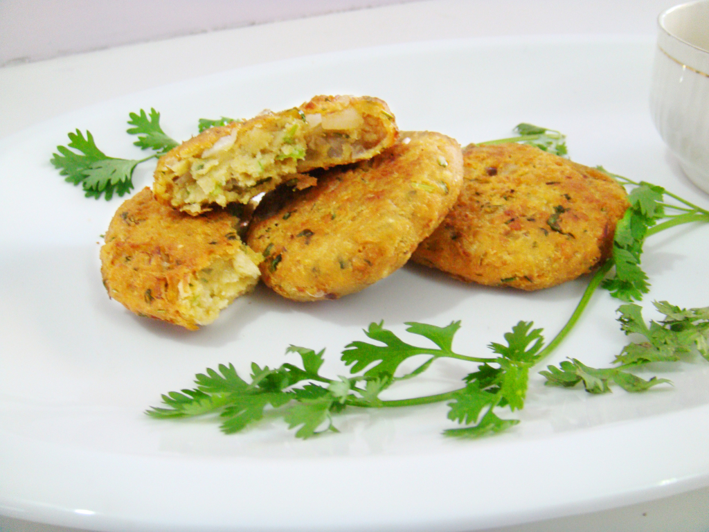 Falafel/ how to make falafel with cooked chickpeas