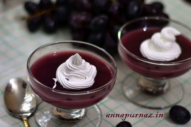 Kram – The Swedish Grape Pudding