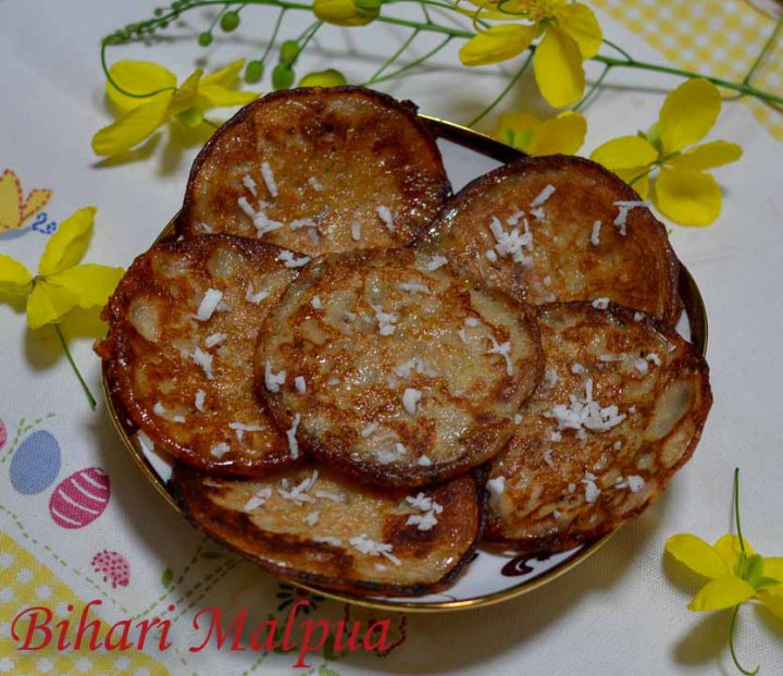 Bihari Malpua/Malpua From Bihar/How to make authentic Bihari malpua