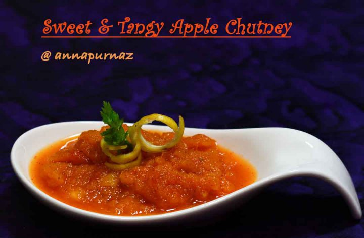 Apple Chutney /Sweet & Tangy Apple Chutney
